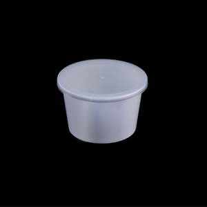 White Plastic Containers